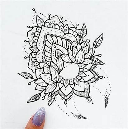 Tattoo Tattoos Mandala Designs Ornamental Henna Wrist