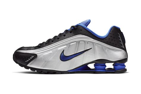 nike shox  racer blue metallic silver release hypebeast