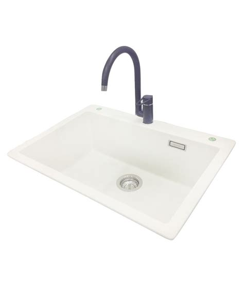 hafele kitchen sinks buy hafele beige acrylic quartz sink at low price 1530