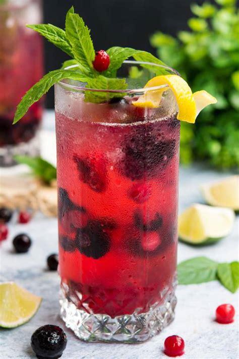 keto vodka cocktail   carb mixed berry vodka