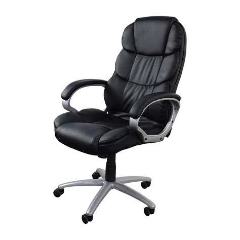 Office Chairs Black by 57 Black Leather Executive Office Chair Chairs
