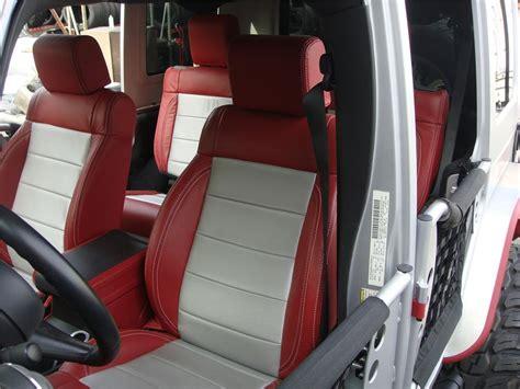 jeep red interior 2007 jeep wrangler unlimited custom suv 139276