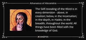 TOP 20 QUOTES B... Athanasius Of Alexandria Quotes