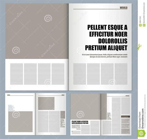 modern design magazine stock illustration image