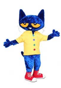 pete the cat costume pete the cat costume rental custom mascots costume