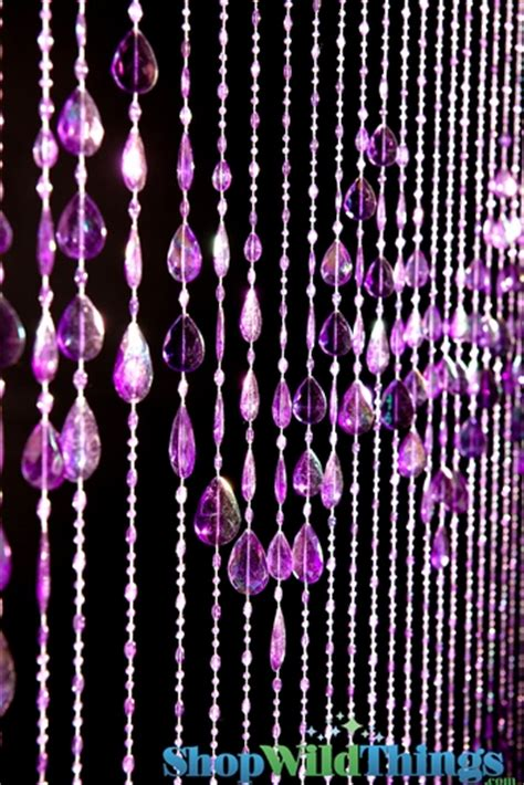 purple beaded curtains beaded curtains big teardrops purple door