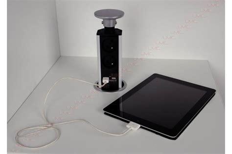 prise electrique encastrable plan de travail cuisine bloc prise encastré escamotable plan travail accessoires de cuisines