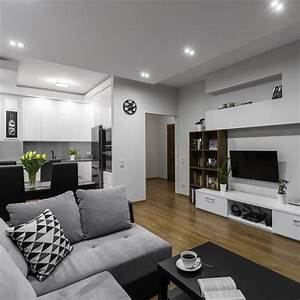 15, Stunning, Grey, Living, Rooms, Ideas, 2017, Complete, With, Pictures
