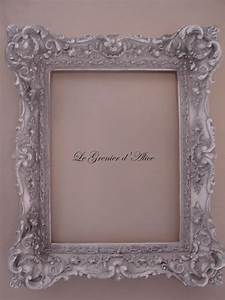 Cadre Photo Baroque : cadre patin style baroque patine shabby chic romantique decoration de charme frame french decor ~ Teatrodelosmanantiales.com Idées de Décoration