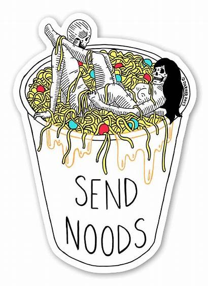Send Noods Sticker Stickers Stickerapp Funny Template
