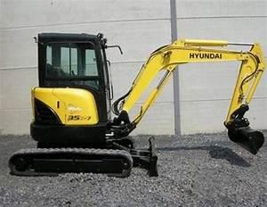 Hyundai Crawler Mini Excavator Robex 35z