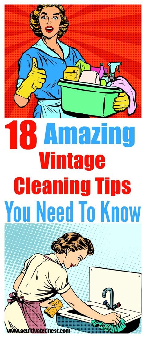 home cleaning hacks  grandma  cultivated nest