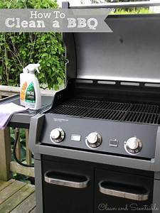 How To Title A Letter Of Recommendation How To Clean A Bbq Clean And Scentsible