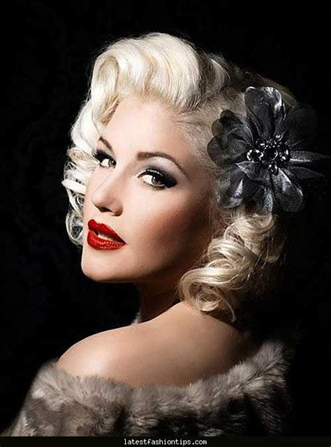 Best Hairstyles For 50s by 50s Hairdo Latestfashiontips