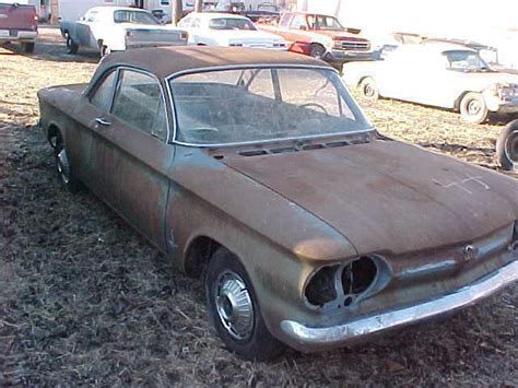 1962 Chevy Corvair Monza Coupe Pair Parts Restore Iowa