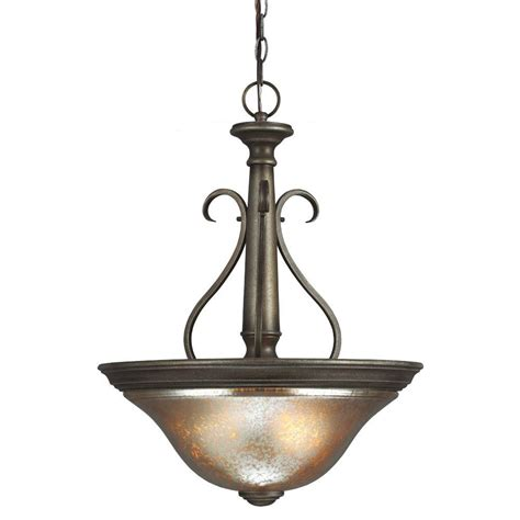 seagull lighting pendant sea gull lighting blayne 3 light platinum oak pendant with