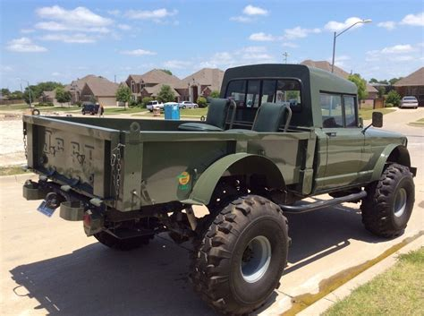 jeep hummer conversion lifted jeep hummer m715 military rock crawler truck