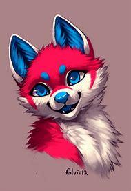 Cute Anime Wolf Furry Drawings