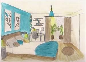 Dco Chambre Bleu Et Taupe Exemples D39amnagements