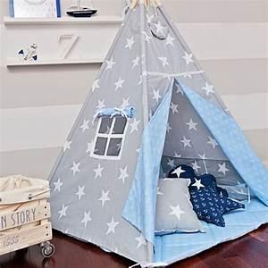 Zelt Kinderzimmer Nähen : tipi zelt sea breeze anker sterne und dawanda ~ Markanthonyermac.com Haus und Dekorationen
