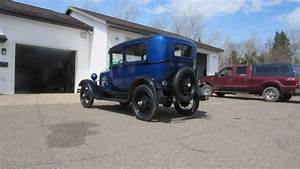 1929 Ford Model A 2 Door Tudor Driver New Paint Wiring