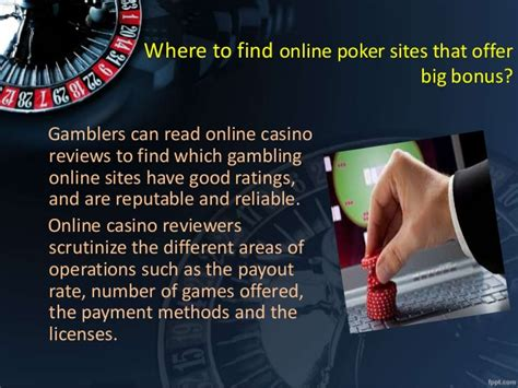 Win Big Real Money And Bonus On Playing Online Poker