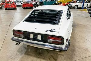 1972 Datsun 240z 11768 Miles White Coupe 2400cc Inline