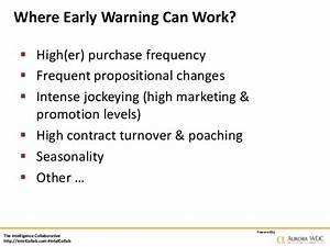 How to Build an Early Warning System to Harness ...