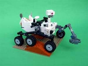 DIY Mars Curiosity Lander Lego kit / Boing Boing