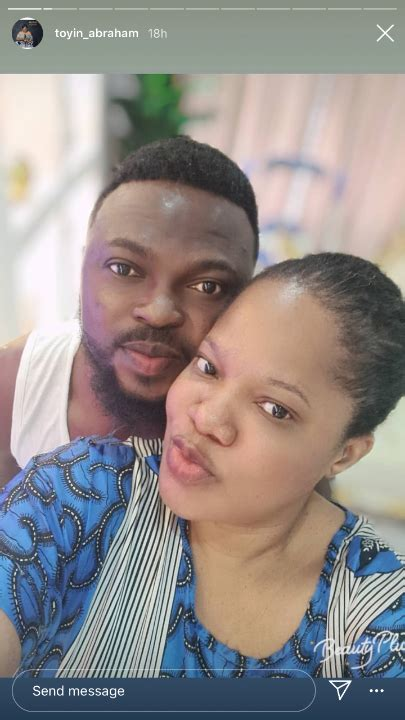 Toyin Abraham Shares Loved up Photos With Her Husband ...