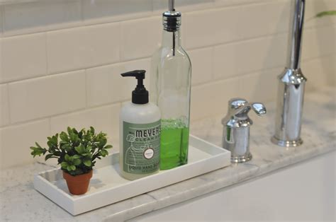 soap holder for kitchen sink pretty trays for the kitchen honey we re home 8153