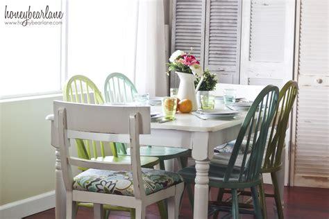 dining room reveal honeybear