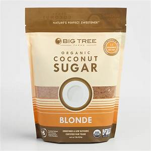 Sweet Tree Organic Coconut Palm Sugar World Market