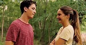 Shailene Woodley Movie Kisses GIFs, Kissing Scenes in Films