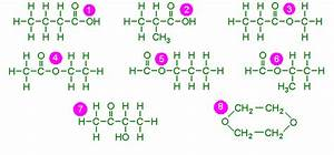 C4h8o2 Isomers | www.pixshark.com - Images Galleries With ...
