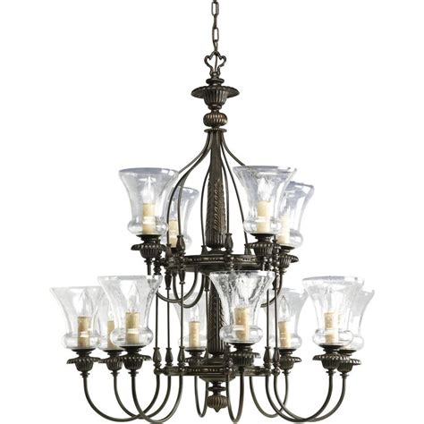 Chandeliers Lighting Collections by Progress Lighting Fiorentino Collection 12 Light Forged