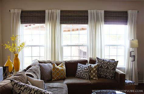 dwellings  devore bamboo shades    windows  larger bamboo shades window