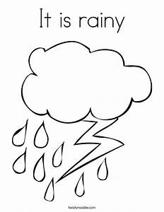 Rain Cloud Colouring Pages (page 2) - Coloring Home