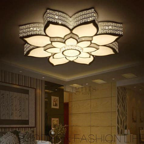 led wall sconce simple lotus shaped wrought iron ceiling light fixtures led