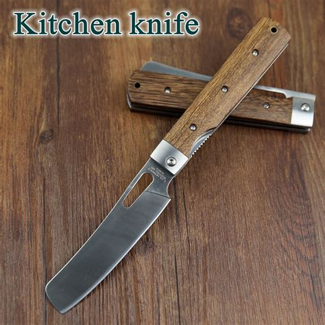 quality knives for kitchen 440a pocket folding kitchen chef knife table knife high