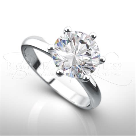 style engagement ring from bigger