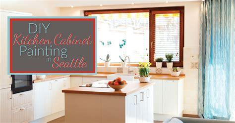 diy kitchen cabinet painting sound finish cabinet painting refinishing seattle diy 6827