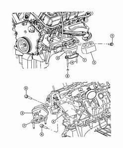 Dodge Charger Cushion  Engine Support  Left  Left Side