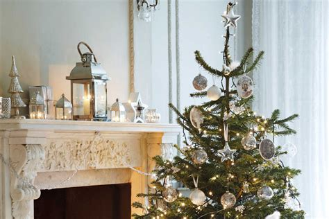 shimmering gold and silver decorations up the festive factor