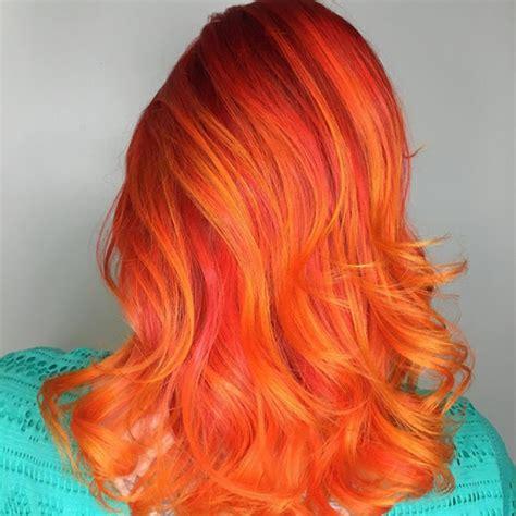 fire hair la nouvelle couleur tendance qui enflamme le