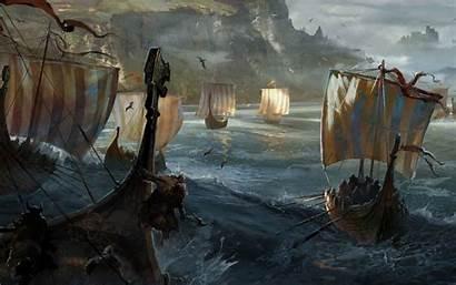 Viking Ship Vikings 1080p