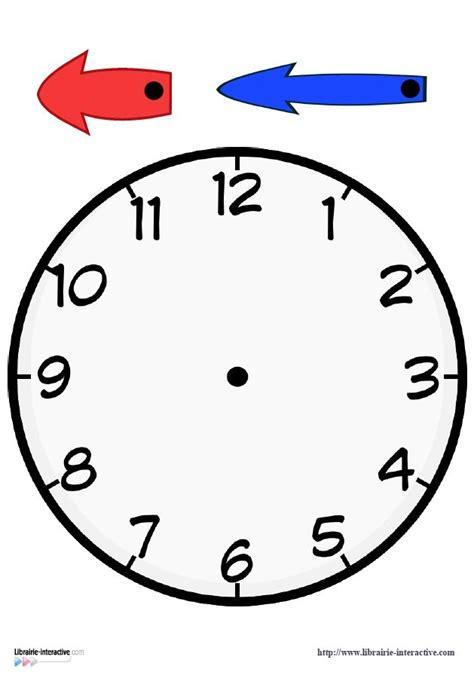 horloges  fabriquer pour vos eleves horloge