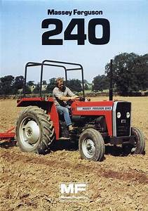 Massey Ferguson Mf 240 Tractor Parts Manual 135pgs For