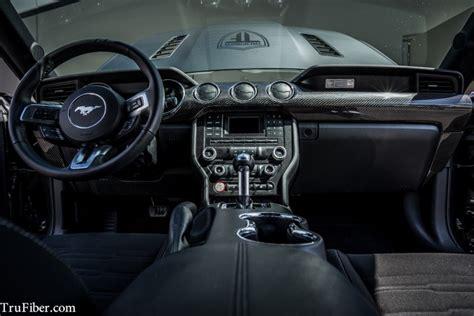 mustang carbon fiber lg dash kit