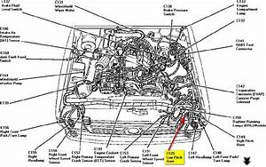 2002 Ford Escape Horn Relay Location